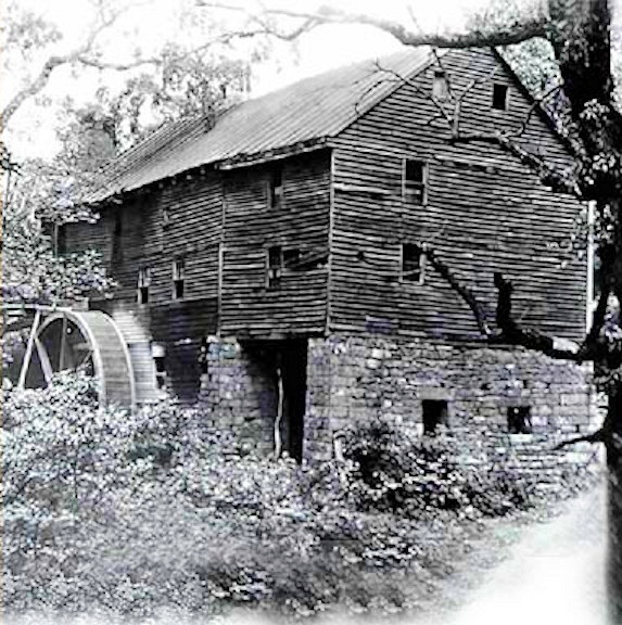 Mill probably of similar construction as the Old Mill built by Prescott.