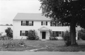 Ralph Houghton house in May 1993; photo from HHC Local Register