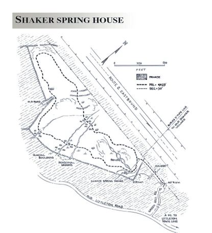 shaker spring house map